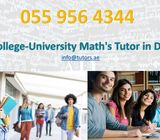 Certified & Qualified Tutor For Math's classes (15+ Yrs exp) 0559564344 – Dubai (Dubai)
