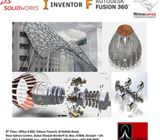 #3D #Modelling #Courses with #Autodesk #Inventor, #Solidworks,  #Fusion and #Rhinoceros.