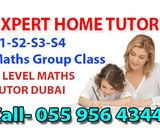 Maths Group Class IB-A-AS-IGCSE In Sheikh Zayed Road 0559564344