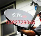 Dish antenna installation 0544001971
