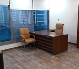 Furnished and Unfurnished offices for rent