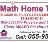 Math's Tutor Available Call 0559564344 For Igcse cie / Edexcel, Ib, Classes