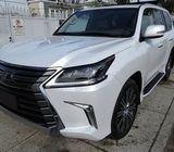 أريد بيع سيارتي LEXUS LX570 2017