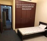 Fully furnished Executive bed space with big baloney available for rent. Near to Dubai internet City