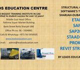 etabs staadpro training in Dubai Sharjah Abudhabi by LEADS centre