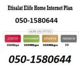 Etisalat Home Wifi Connections