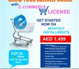● GENERAL TRADING WITH E-COMMERCE LICENSE SALE INSTALLMENTS 1499