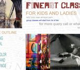 Winter Art and craft classes for kids and ladies