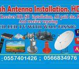DISH TV AIR TELL IPTV CCTV 0557401426