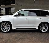 LEXUS LX 570 SUV Gulf Specs 2018 (White)