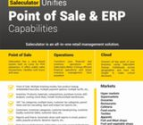 Saleculator POS & ERP - Retail Management Solution