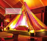 Wedding stage backdrop mandap mehndi backdrop rentals
