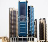 Desirable ready Fitted office With Great location for sale in Metropolis Tower Business Bay