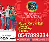 IGCSE O Level and A Level Tuition Ajman: 0547899234