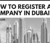 How to Register a Company in Dubai? #0544472159