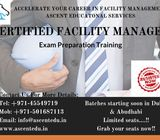 CERTIFIED FACILITY MANAGER -CFM TRAINING IN DUBAI