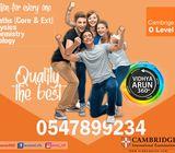 IGCSE Exam Preparation in Ajman 0547899234