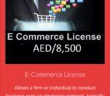E commerce license for sale