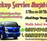 Pick up service Dubai and sharjah movers