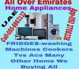 ALL USED HOME APPLIANCES WE ARE BUYING