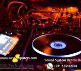 Sound System Rental Dubai | Sound System Installation in Dubai