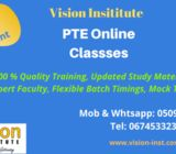online classes for pte on big discounts at vision institute