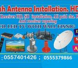 AIRTEL HD FOR SALE WITH MONTH FREE 0557401426 ANY PLACE NEW SERV