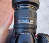 Nikon D750 Full-Frame DSLR Camera with AFS 24-120m