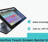 Touch Screen Hire Services in Dubai UAE