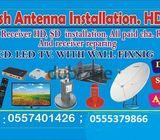 Satellite Dish IpTv Services in Dubai 0522462601 new