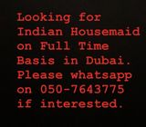 Looking for Indian Maid