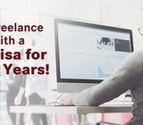 Freelance work permit with residence