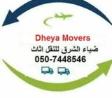 Dheya Movers Relocating-0507448546