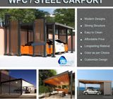 WPC Car Port | Steel Car Port | Wooden Car Port