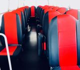 34 Seats fuso Buses for rent