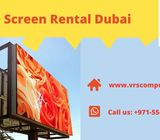 High Quality LED Display Screen Rentals in Dubai