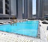 Canal&Pool View 2BR Apartment in Shams, Abu Dhabi
