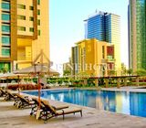 Beautiful One-Bedroom Apartment with Sea View in Al Reem Island.