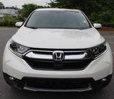 2018 Honda CR-V EX-L (White and Beige)