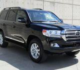 2019 Toyota Land Cruiser Black