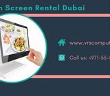 Interactive Touch Screen on Rent in Dubai UAE