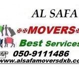 AL SAFA MOVERS AND PACKERS CALL 0509111486