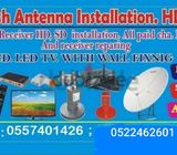 DUBAI ALL CHANNEL FIX ANY PLACE 0557401426