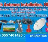 AIRTELL IP TV  DISH TVV PROVIDER 0557401426