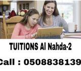 Tuitions Al-Nahda-2 Dubai (050-8838139)