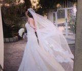 Wedding dress from Pronovias