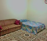 Family Room with Attached Bath Available for couple/small family at Baniyas, Wathba