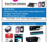 we buy used and new toner cartridges from dubai uae
