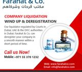 company liquidation wind up & de-registration - Call Us today!
