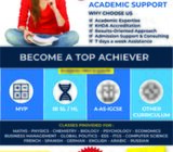 IB Math, IB Physics and IB English